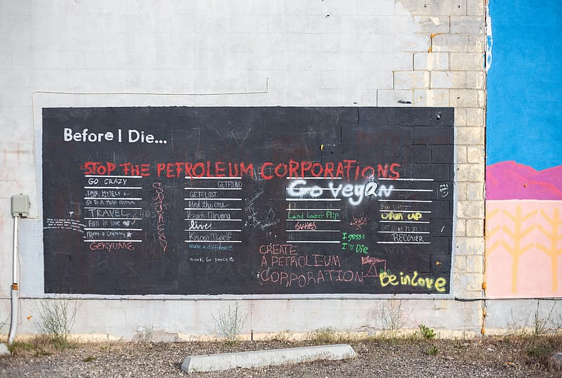 Black board with Before I Die... text
