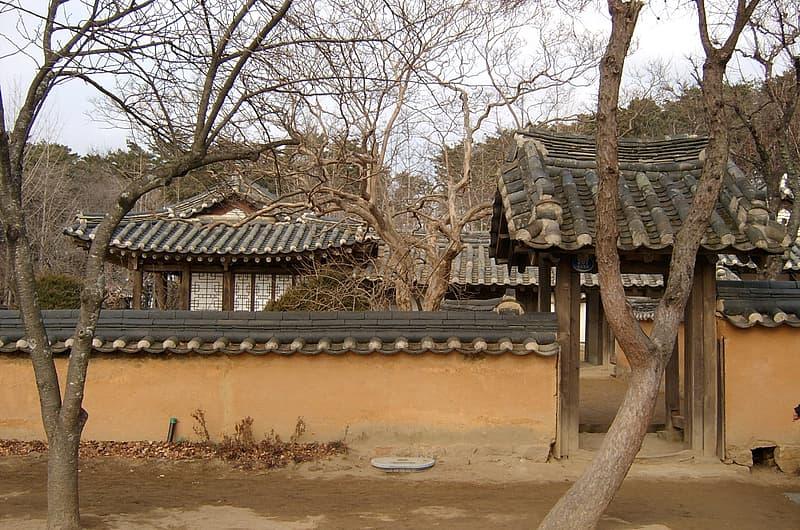 Birth house of Heo Nanseolheon, Korean Poet in Gangneung, South Korea