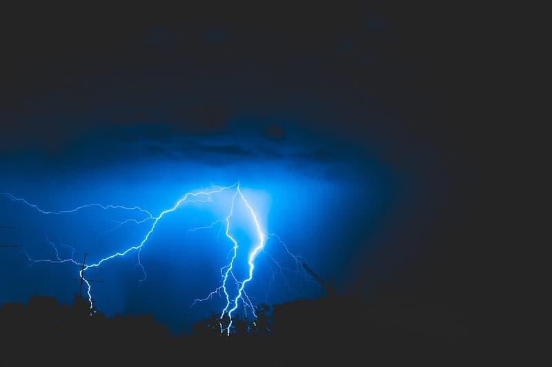Photography of lightning