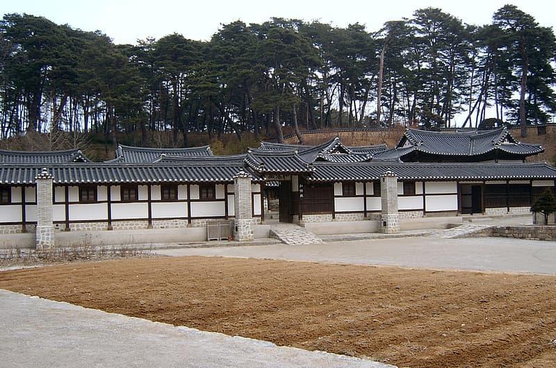Seongyojang, a country house in Gangneung, South Korea